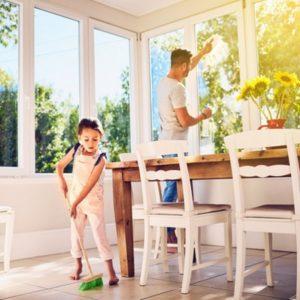 Kako kućne poslove možete pretvoriti u igru sa decom